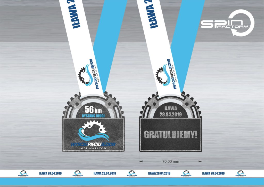 Medal – Wyścig Pięciu Jezior 2019